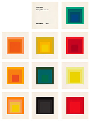 "Josef Albers, ""Homage to the Square"", Danilowitz 203.1 - 203.10"