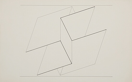 "Josef Albers, ""Structural Constellation"""