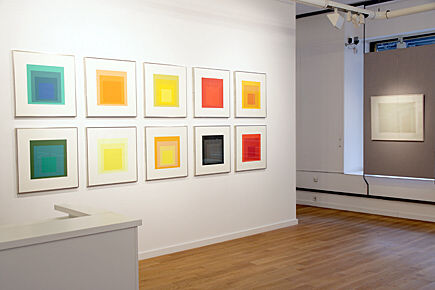 "Josef Albers, ""Homage to the Square: Edition Keller Ia-Ik"",Danilowitz 203.1-10"