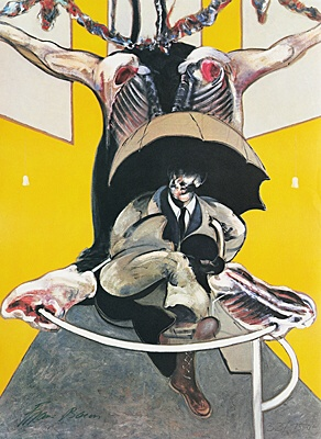 "Francis Bacon, nach ""Second version of Painting 1946, 1971"",Tacou 1"