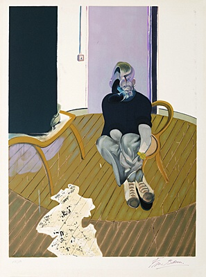 "Francis Bacon, nach ""Selfportrait No 2, 1973"",Tacou 7"