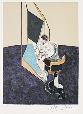 "Francis Bacon, nach ""Three Studies of Male Back, 1970"",Tacou 21 (B)"
