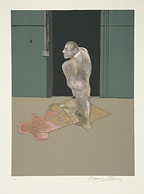 "Francis Bacon, nach ""Study for a Portrait of John Edwards, 1986"",Tacou 23"