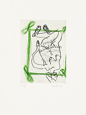 "Georg Baselitz, ""Liberty II """