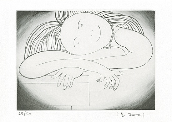 "Louise Bourgeois, ""The smile"""