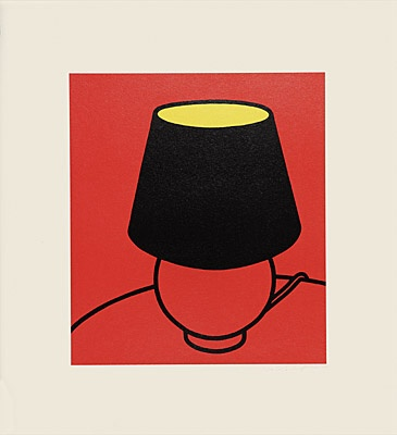 "Patrick Caulfield, ""I've only the friendship of hotel rooms"", Cristea 38 p"