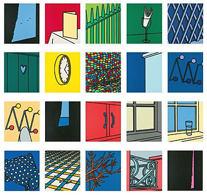 "Patrick Caulfield, ""Some poems of Jules Laforgue"", Cristea 38 a-v"