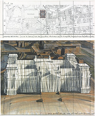 "Christo & Jeanne-Claude, ""Wrapped Reichstag"""