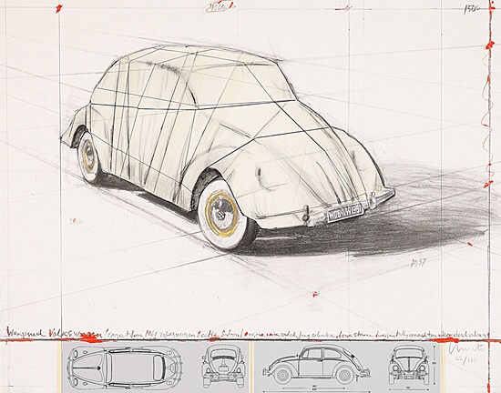 "Christo, ""Wrapped Volkswagen"",Schellmann 207"