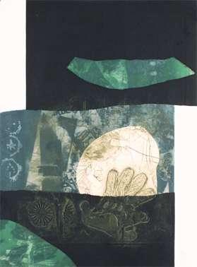 """Antoni Clavé, """"En noir et vert"""""""
