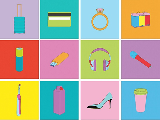 "Michael Craig-Martin, ""Objects of our time"""