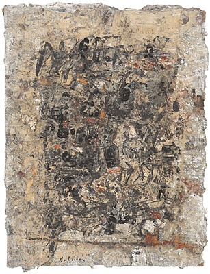 "Karl Fred Dahmen, ""Collage"", Weber 068.61 - B 0694"