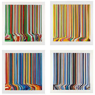 "Ian Davenport, ""The Four Seasons"""