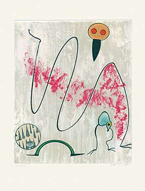 "Max Ernst, ""Oiseaux en péril"" (Vögel in Gefahr)"