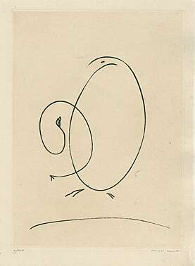 "Max Ernst, ""Tout en un plus un"" (Alles in einem plus eins)"