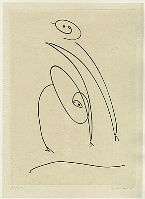 """Max Ernst, """"Tout en un plus deux"""" (Alles in einem plus zwei)"""