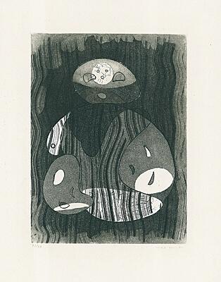 """Max Ernst, ohne Titel bzw. """"Maternité"""" (Mutterschaft)"""