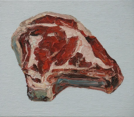 "Ralph Fleck, ""Steak 19/V (Aubrac)"""