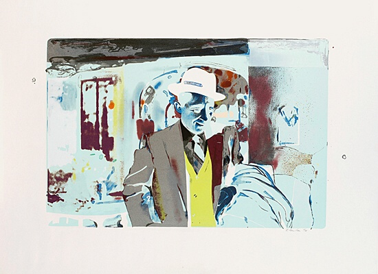 "Richard Hamilton, ""I'm Dreaming of a White Christmas"", Lullin 064"