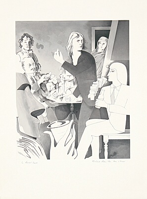 "Richard Hamilton, ""In Horne's house"",Lullin 120"