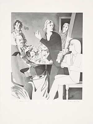 "Richard Hamilton, ""In Horne's house"", Lullin 120"