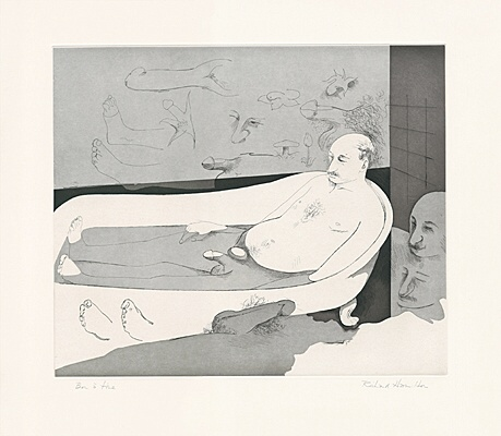 "Richard Hamilton, ""A languid floating flower"",Lullin 137"