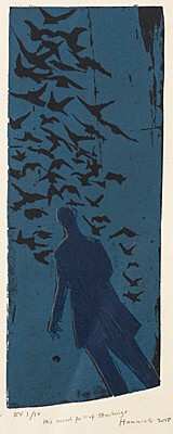 "Tom Hammick, ""His Mind Full of Starlings"""
