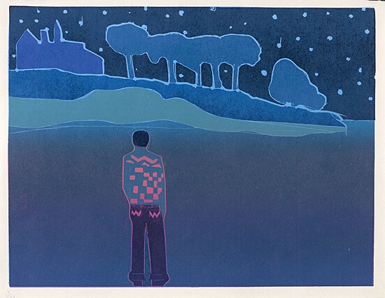 "Tom Hammick, ""In the Bosom of the Darkest Woods"""