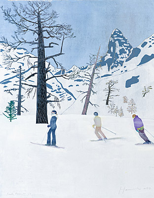 "Tom Hammick, ""Red Run"""