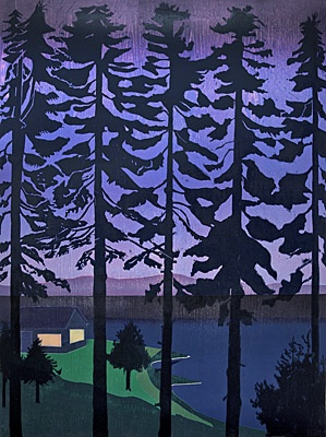 "Tom Hammick, ""The Bay Coming In"""