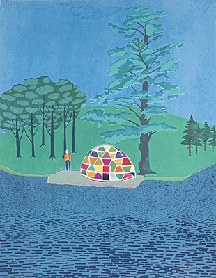 "Tom Hammick, ""The Crossing"""