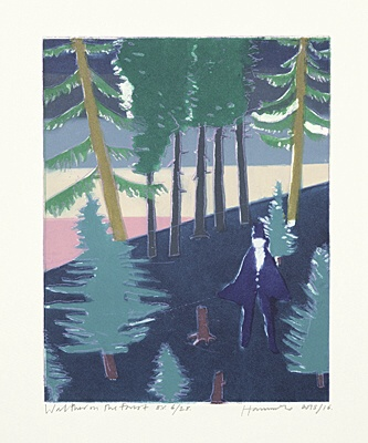 "Tom Hammick, ""Walther in the Forest"""