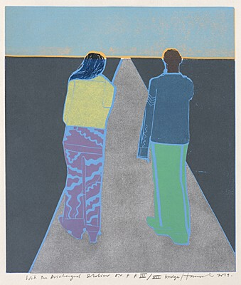 "Tom Hammick, ""With the Discharged Soldier"""