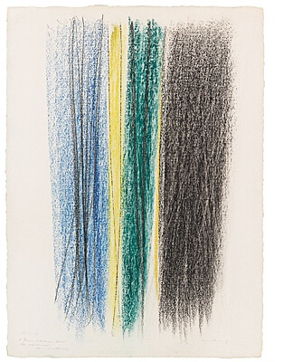 "Hans Hartung, ""Komposition"" (P 1961-14)"