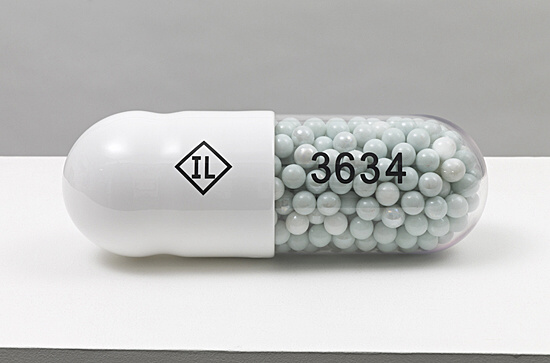 "Damien Hirst, ""Theophylline Extended Release IL 3634"",  OC10072"