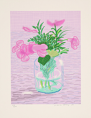 "David Hockney, ""Untitled 329"""