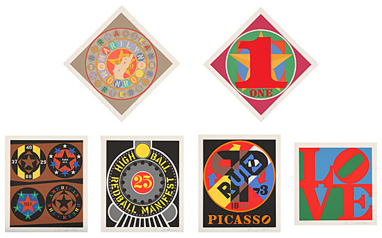 "Robert Indiana, ""The American Dream"""