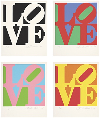 "Robert Indiana, ""The Book of Love"""