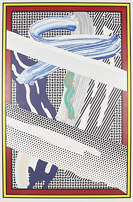 "Roy Lichtenstein, ""Reflections on expressionist painting"",Corlett 255"
