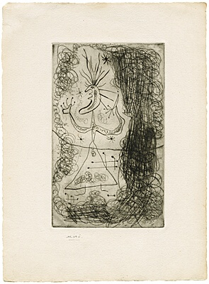 "Joan Miró, ""Fraternity"", Dupin 43"