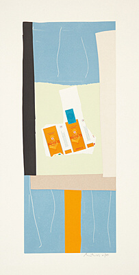 "Robert Motherwell, ""Harvest, with Orange Stripe"", Belknap 127"