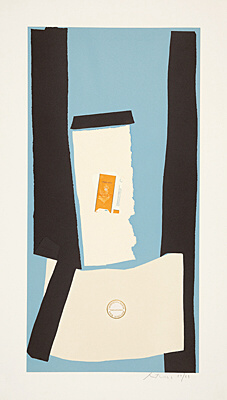 "Robert Motherwell, ""Harvest, in Scotland"", Belknap 129"