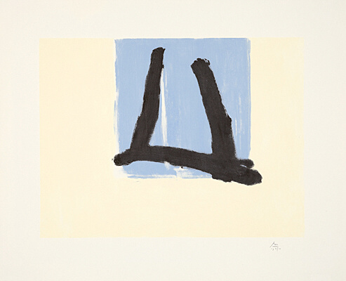 "Robert Motherwell, ""Summer Sign"", Belknap 430"