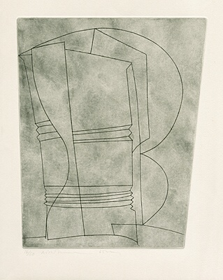 "Ben Nicholson, ""Still life with curves"",Lafranca 13"