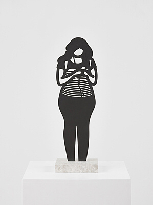 "Julian Opie, ""Backpack."""