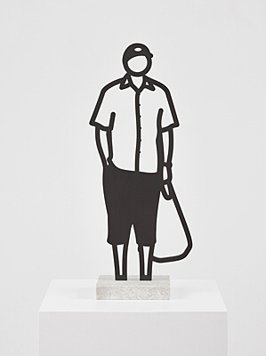 "Julian Opie, ""Plastic Bag."""