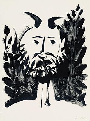 61. Pablo Picasso, Bloch 519, Gauss 370, Mourlot 112, Rau 347