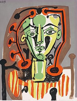 24. Pablo Picasso, Bloch 604, Gauss 503