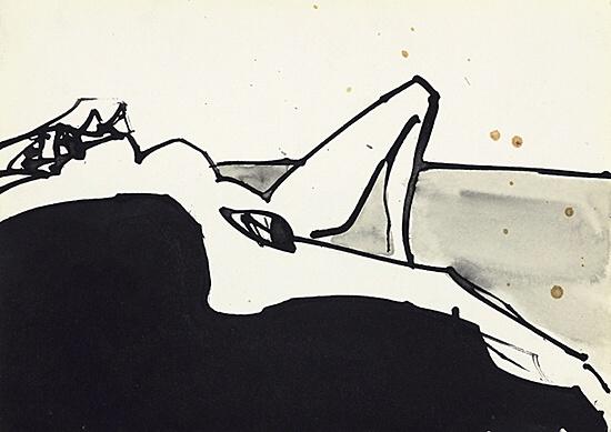 Antonio Saura, Ref. S-1968