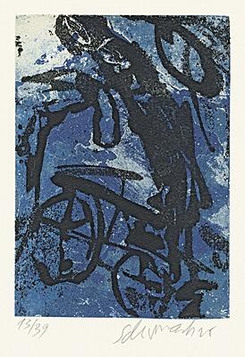"""Emil Schumacher, """"3/1995"""""""